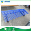 Cast Alum Bench Legs (FY-160X)를 가진 상업적인 Outdoor Furniture Blue Color Steel Tube Bench Seating
