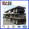 2 Aanhangwagen van het Frame van de Aanhangwagen van de Container van de as Flatbed Semi 20FT Flatbed
