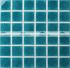 плитка мозаики плавательного бассеина зеленого хруста 48X48mm керамическая (BCK712)
