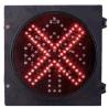 Diamètre 200mm de Croix-Rouge de signal d'arrêt d'allée 8 pouces