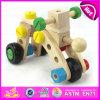 2015 o jogo engraçado Montessori de madeira DIY parafusa o brinquedo, combinação de madeira da porca do parafuso do brinquedo dos cabritos, brinquedo de madeira barato W03c012 dos parafusos da venda por atacado