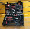 La meilleure trousse à outils fondamentale de vente chaude de trousse d'outils de la trousse d'outils 163PCS portent le cadre de caisse de coup