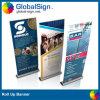 La publicité aluminium rouleau vers le haut le stand de bannière avec Digitals imprimé