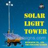 torre clara móvel da construção da fonte de alimentação solar da garantia 2years