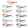 De hete het Verkopen Optische Manier van de Glazen van het Frame en Knappe Kleur