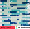 Wasserdichtes Adhesive Vinyl Wall Sticker Tiles für Raum Decor
