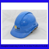 Chapéu duro da segurança material do ABS com tipo capacete do respiradouro da suspensão de 6 pontos de segurança