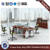 Four Seats (HX-GA005)를 가진 현대 Straight Office Partition Cubicle