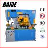 De multifunctionele Ijzerbewerker, Plaat die Machine, de Machine van het Ponsen van de Plaat inkerft, plateert Scherpe Machine