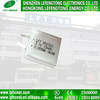 SuperThin Li-Ion Battery 0.5mm Thickness 052323 3.7V 15mAh für Stellung Identifikation-Card