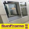 Einzelnes Flügelfenster-Aluminiumfenster für Wohnung