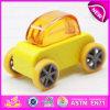 De multi Auto van het Stuk speelgoed van de Douane van Kleuren Houten Mini voor Jonge geitjes, de Grappige Populaire Auto Van uitstekende kwaliteit W04A180b van het Stuk speelgoed van de Douane van Kinderen Mini