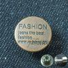 Кнопки тавра металла куртки джинсыов изготовленный на заказ для пальто