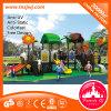 Equipo plástico al aire libre comercial del patio para el juego de los cabritos