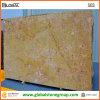 Azulejo amarillo de encargo de la pared del granito para el revestimiento/el material de construcción