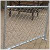 Temporäres Zaun-/Metallrahmen-Material und heißer eingetauchter galvanisierter Kettenlink-Zaun