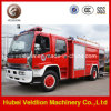 Isuzu 4X2水Foam Fire Fighting Truck