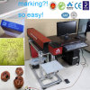 máquina de la marca del laser del CO2 40W para el neumático, sistema de la marca del laser