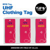 RFIDの衣類のこつの札の外国人H3 9620