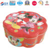 Nahrung Packaging Companies Tin Box mit Flower Shaped Jy-Wd-2015112517