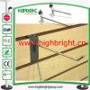 Ineinander greifen-rückseitige Stahldraht Slatwall Scannen-Bildschirmanzeige-Haken
