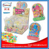 Kleines Plastikflipperautomat-Spiel-Spielzeug mit Süßigkeit