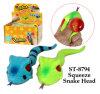 Het grappige HoofdStuk speelgoed van de Slang Squueze