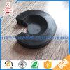 Резиновый цилиндрической черной ноги пусковой площадки /Silicone бамперов