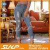 Jeans del denim di modo di usura di svago delle signore con il foro