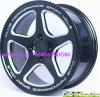 roue de fraisage de l'alliage 15inch-18inch d'aluminium pour des courses d'automobiles