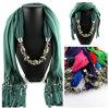 Beautiful Design Decorative Pendant Neck Scarf Lady Accessory Scarf