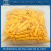 China-Lieferant für gelbe Plastik-PET M6*30 Anker