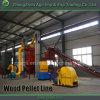 Chaîne de production en bois complète de boulette de boulette de biomasse de moulin en bois de machine