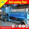Equipamento da poeira de ouro, equipamento aluvial, planta de lavagem do diamante