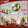 Da boneca feliz das famílias das famílias de Sylvanian brinquedos plásticos da mobília do brinquedo da cozinha