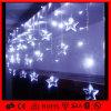 Luz de interior del carámbano del efecto de la lluvia de la decoración LED de la Navidad que cae