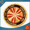 Gold de encargo 3D Metal Coin para Chief Firefighter