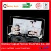 Regalo promozionale della foto del blocco per grafici del magnete magnetico acrilico in bianco del frigorifero