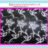 Ткань вышивки сети конструкции цветка Sequin