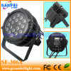 IP65 imperméable à l'eau 18PCS*10W DEL PAR Party Light