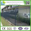 Painel superior frisado decorativo barato da cerca do ferro feito da lança