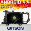 Witson Android 4.4 Car DVD voor KIA K5 2011-2012 met A9 ROM WiFi 3G Internet DVR Support van Chipset 1080P 8g