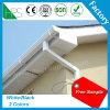 Belüftung-Dach-Regen-Abfluss-Rinne-Schutz weiß/Schwarzes