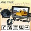 Hintere Ansicht-Kamera-System des LKW-Bergbaus, Löschfahrzeuge, Krankenwagen, Bargeld-in-Durchfahrt Sicherheits-Anblick