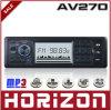 Émission réglable de Digitals de format de MP3 de soutien de l'horizon AV270 électriquement, joueur de MP3 de voiture