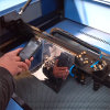 Máquina de grabado del laser del acero inoxidable (DW1290)