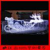 LED-im Freiendekoration-Ren-Pferdeschlitten-Leuchte