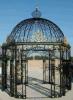 Павильон ковки чугуна сада, классицистический Gazebo утюга сада