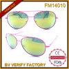 Nuovi occhiali da sole lucidi progettati del metallo di colore FM14010