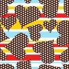 Impression 0204 de Digitals de tissu en soie de mode